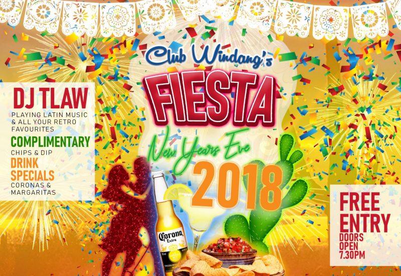 Club Windang's Fiesta Facebook post